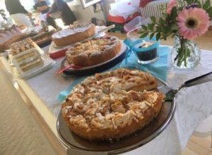 Kuchenverkauf erhöhte den Spendenbetrag