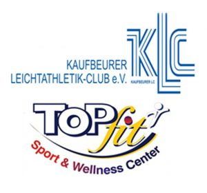 Logos Kaufbeurer Leichtathletik-Club und Topfit-Club