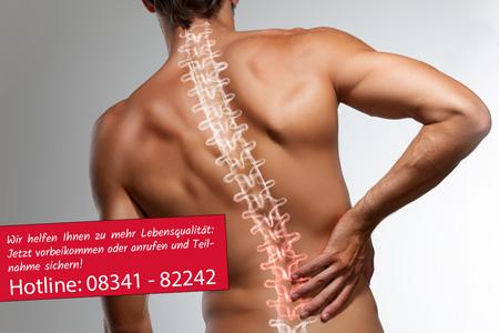 Bild mit Rückenleiden