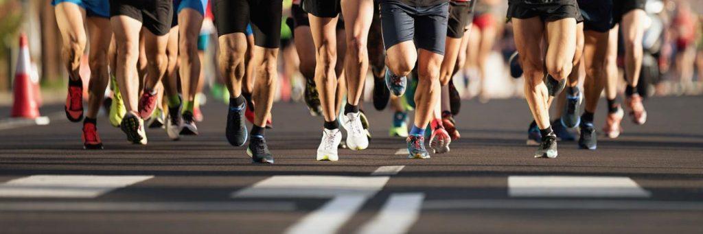 Laufende Beine