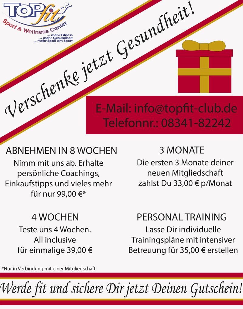 Weihnachtsgeschenke Flyer