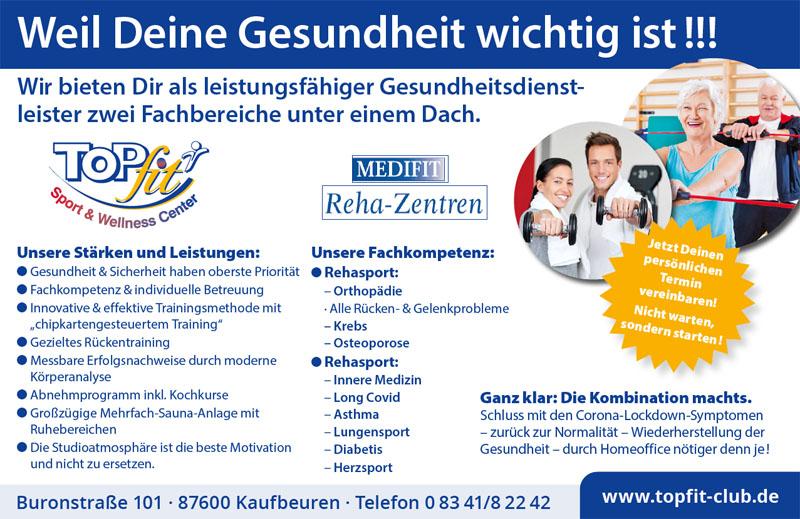 Gesundheits-Flyer